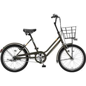 ブリヂストン BRIDGESTONE 20型 自転車 ベガス 3T(カーキ/3段変速・点灯虫モデル) VEG03T 6315【組立商品につき返品不可】 【代金引換配送不可】