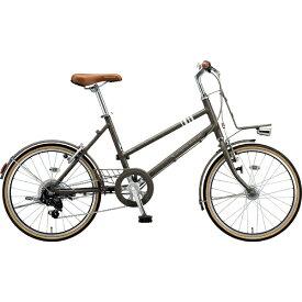 ブリヂストン BRIDGESTONE 20型 自転車 マークローザ M7(T.XHカーキ(ツヤ消しカラー)/外装7段変速) MRK07T 6342【組立商品につき返品不可】【b_pup】 【代金引換配送不可】
