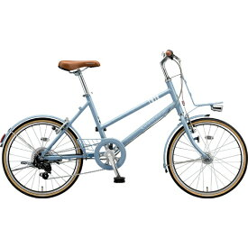 ブリヂストン BRIDGESTONE 20型 自転車 マークローザ M7(T.Xマットブルーグレー(ツヤ消しカラー)/外装7段変速) MRK07T 6343【組立商品につき返品不可】【b_pup】 【代金引換配送不可】