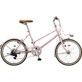 ブリヂストン BRIDGESTONE 20型 自転車 マークローザ M7(E.Xサンドピンク/外装7段変速) MRK07T 6345【組立商品につき返品不可】【b_pup】 【代金引換配送不可】
