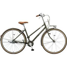 ブリヂストン BRIDGESTONE 27型 自転車 マークローザ 3S(T.XHカーキ(ツヤ消しカラー)/内装3段変速) MRK73T 6336【組立商品につき返品不可】 【代金引換配送不可】