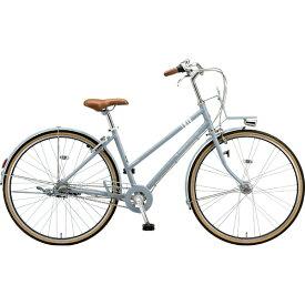 ブリヂストン BRIDGESTONE 27型 自転車 マークローザ 3S(T.Xマットブルーグレー(ツヤ消しカラー)/内装3段変速) MRK73T 6337【組立商品につき返品不可】 【代金引換配送不可】