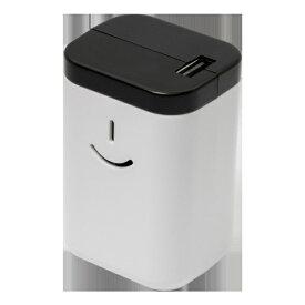 OWLTECH オウルテック 緊急CHARGE!! 乾電池があればすぐに使える!!!乾電池式モバイルバッテリー「電池でGO!!USBタイプ」 ホワイト OWL-DBU1-WH [1ポート /乾電池タイプ]
