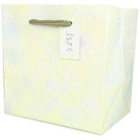 ワールドクラフト world craft 水彩柄ギフトバックSまごころ黄