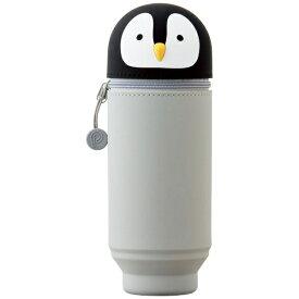 リヒトラブ LIHIT LAB. [ペンケース] スタンドペンケース BIGサイズ SMART FIT PuniLabo A-7714-10 ペンギン