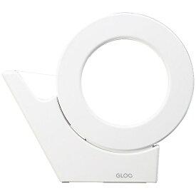コクヨ KOKUYO テープカッター 吸盤ハンディタイプ 大巻き GLOO(グルー) 白 T-GM500NW