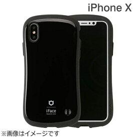 HAMEE ハミィ iPhone X用 iFace First Classケース ブラック IP8IFACEFCBK[IP8IFACEFCBK]