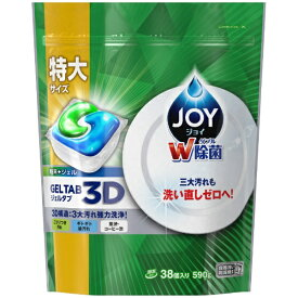 P&G ピーアンドジー JOY(ジョイ)ジェルタブ38P〔食器洗い機用洗剤〕