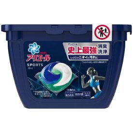 P&G ピーアンドジー ARIEL(アリエール)ジェルボール3Dプラチナスポーツ本体〔衣類用洗剤〕