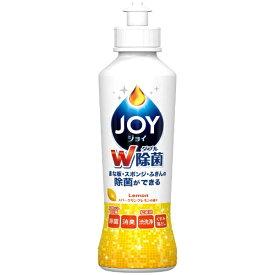 P&G ピーアンドジー 除菌JOY(ジョイ)コンパクト スパークリングレモンの香り 本体〔食器用洗剤〕