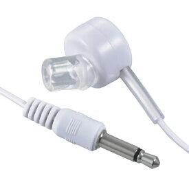 オーム電機 OHM ELECTRIC モノラルイヤホン3.5 I型 3M 白 EAR-B353-W[EARB353W]