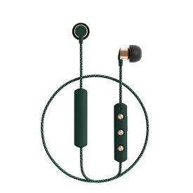 SUDIO スーディオ Bluetoothイヤホン SUDIO (スーディオ) グリーン SD-0043 [リモコン・マイク対応 /ワイヤレス(ネックバンド) /Bluetooth][TIOGRN]
