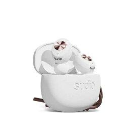SUDIO スーディオ フルワイヤレスイヤホン SUDIO(スーディオ) ホワイト TOLV-WH [リモコン・マイク対応 /ワイヤレス(左右分離) /Bluetooth][ワイヤレスイヤホン TOLVWH]