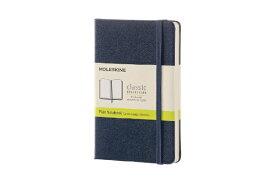 MOLESKINE モレスキン カラーノート ノートブック ハードカバー プレーン(無地) Sブルー Pocket