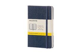 MOLESKINE モレスキン カラーノート ノートブック ハードカバー スクエアード(方眼) Sブルー Pocket