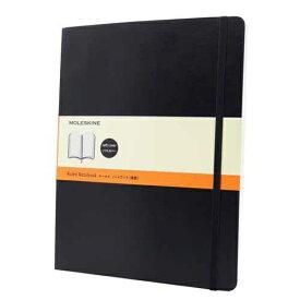 MOLESKINE クラシック ノートブック ソフトカバー ルールド(横罫) ブラック XL