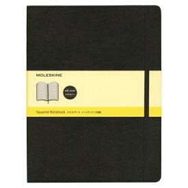 MOLESKINE クラシック ノートブック ソフトカバー スクエアード(方眼) ブラック XL