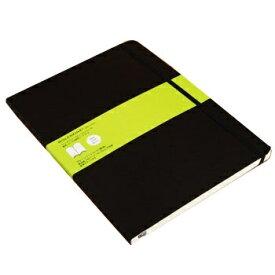 MOLESKINE クラシック ノートブック ソフトカバー プレーン(無地) ブラック XL