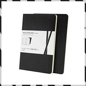 MOLESKINE ヴォラン ジャーナル ルールド(横罫) 2冊セット Pocketブラック