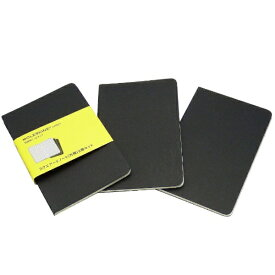 MOLESKINE モレスキン カイエ ジャーナル3冊セット カードボード スクエアード(方眼) BK Pocket