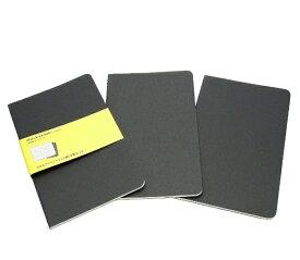 MOLESKINE カイエ ジャーナル3冊セット カードボード スクエアード(方眼) BK Large