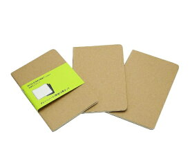MOLESKINE カイエ ジャーナル3冊セット カードボード プレーン(無地) クラフト Pocket