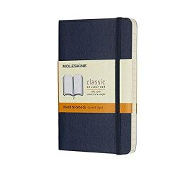 MOLESKINE モレスキン カラーノート ノートブック ソフトカバー ルールド(横罫) Sブルー Pocket