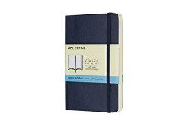 MOLESKINE モレスキン カラーノート ノートブック ソフトカバー ドット サファイアブルー Pocket