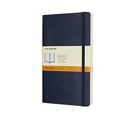 MOLESKINE モレスキン カラーノート ノートブック ソフトカバー ルールド(横罫) サファイアブルー Large