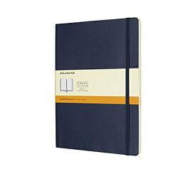 MOLESKINE モレスキン カラーノート ノートブック ソフトカバー ルールド(横罫) サファイアブルー XL