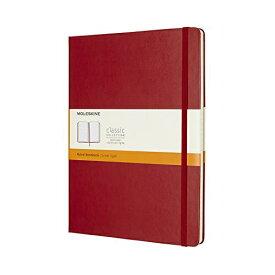 MOLESKINE カラーノート ノートブック ハードカバー ルールド(横罫) レッド XL