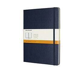 MOLESKINE モレスキン カラーノート ノートブック ハードカバー ルールド(横罫) サファイアブルー XL