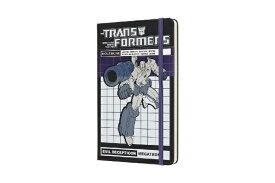 MOLESKINE トランスフォーマー限定版ノートブックバー ルールド(横罫)Large
