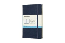 MOLESKINE モレスキン カラーノート ノートブック ハードカバー ドット サファイアブルー Pocket