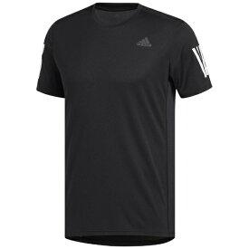 アディダス adidas メンズ ランニングシャツ RESPONSE Tシャツ(Lサイズ/ブラック×ホワイト)FWB26 DX1312