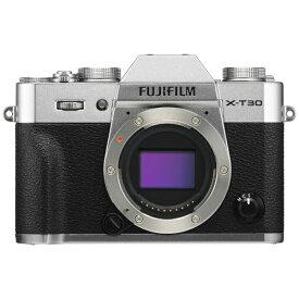 富士フイルム FUJIFILM X-T30-S ミラーレス一眼カメラ シルバー [ボディ単体][FXT30S]