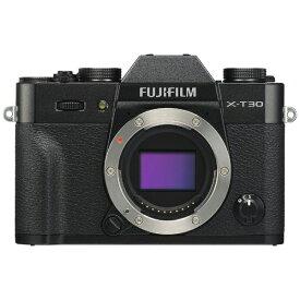 富士フイルム FUJIFILM X-T30-B ミラーレス一眼カメラ ブラック [ボディ単体][FXT30B]