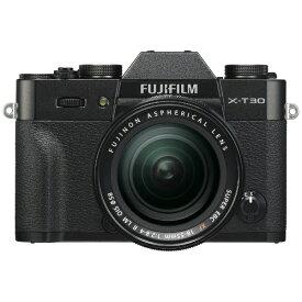 富士フイルム FUJIFILM X-T30-B ミラーレス一眼カメラ XF18-55mmレンズキット ブラック [ズームレンズ][FXT30LKB]
