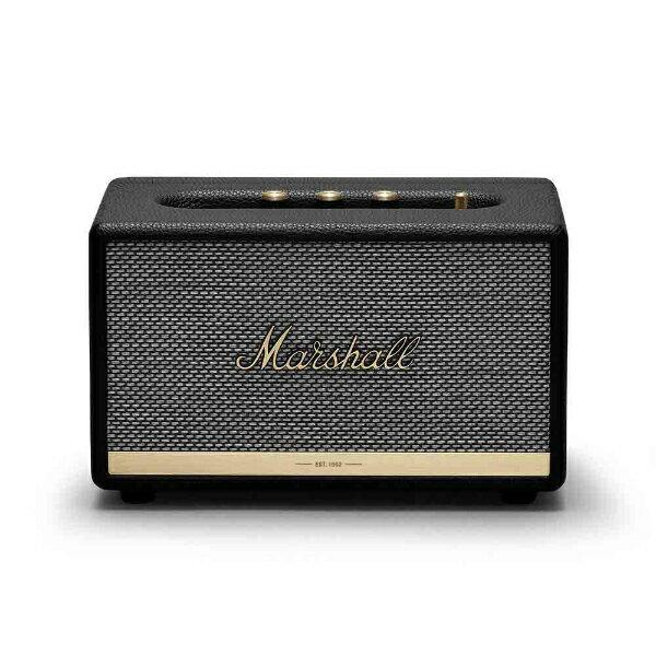 MARSHALL ZMS-1001900 Marshall ACTON II Bluetooth Black [Bluetooth対応][ZMS1001900]
