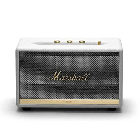 Marshall マーシャル ZMS-1001901 Marshall ACTON II Bluetooth White ACTON BT II WHITE ホワイト [Bluetooth対応][マーシャル スピーカー ZMS1001901]