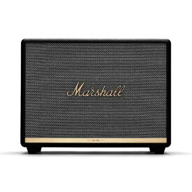 Marshall マーシャル ZMS-1001904 Marshall Woburn Bluetooth II Black WOBURN II BLACK ブラック [Bluetooth対応][マーシャル ブルートゥース スピーカー ZMS1001904]