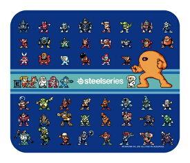 STEELSERIES スティールシリーズ ゲーミングマウスパッド QcK-mini-Rockman-Edition[63393]