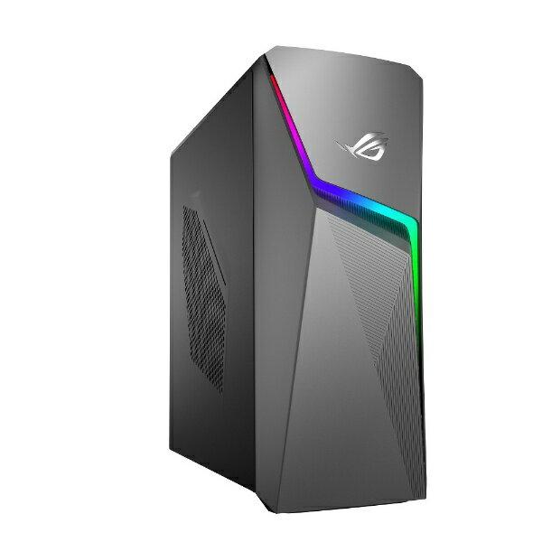 ASUS エイスース ROG STRIX ゲーミングデスクトップパソコン [モニター無し /CPU:Core i5 /HDD:1TB /Optane:16GB /メモリ:8GB /2019年2月モデル] GL10CS-I5G1050 [モニター無し /HDD:1TB /Optane:16GB /メモリ:8GB /2019年2月モデル][GL10CSI5G1050]