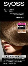 シュワルツコフヘンケル Henkel Japan syoss(サイオス) ヘアカラー クリーム 1N シルキーベージュ