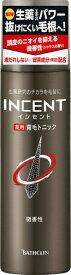 バスクリン BATHCLIN インセント 薬用育毛トニック 微香性180g【wtcool】