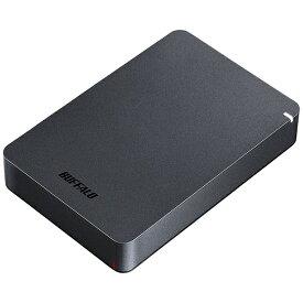 BUFFALO バッファロー HD-PGF4.0U3-GBKA 外付けHDD ブラック [ポータブル型 /4TB][HDPGF4.0U3GBKA]
