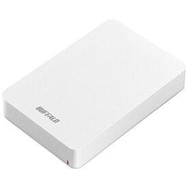 BUFFALO バッファロー HD-PGF4.0U3-GWHA 外付けHDD ホワイト [ポータブル型 /4TB][HDPGF4.0U3GWHA]