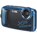 富士フイルム FUJIFILM XP140 コンパクトデジタルカメラ FinePix(ファインピックス) スカイブルー [防水+防塵+耐衝撃][FFXXP140SB]
