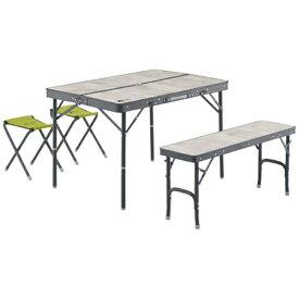 ロゴス LOGOS ROSY ファミリーベンチテーブルセット