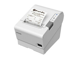 エプソン EPSON レシートプリンター(シリアル/USB/有線/無線LAN(オプション)モデル)ホワイト ホワイト TM886S001W